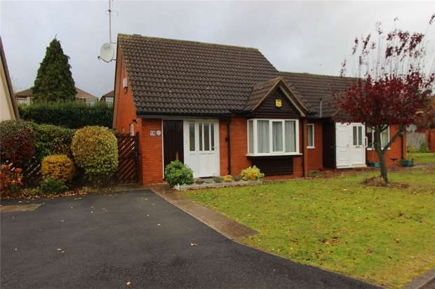 2 Bedrooms Semi Detached Bungalow for sale in Shadowbrook Road, Coundon, Coventry