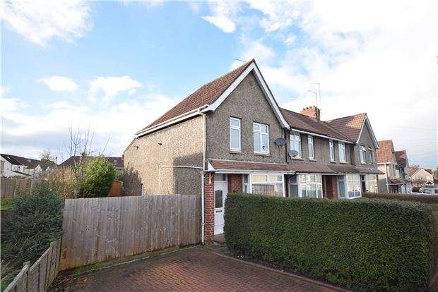 3 Bedrooms End Of Terrace House for sale in Gloucester Road, Staple Hill, BRISTOL, BS16 4SU