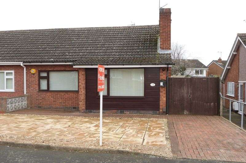 2 Bedrooms Semi Detached Bungalow for sale in Seaton Road, Wigston