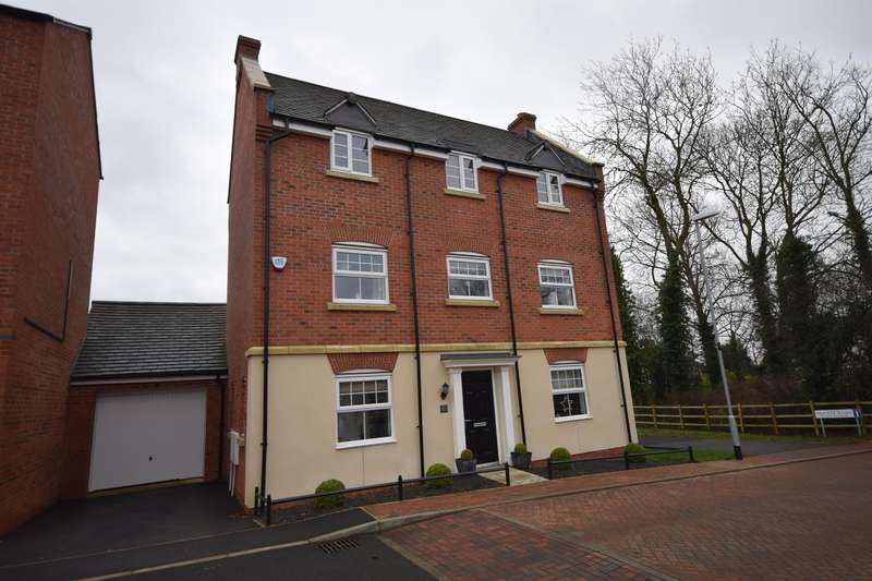 4 Bedrooms Detached House for sale in Bradgate Close, Narborough, Leicester, LE19 3EG