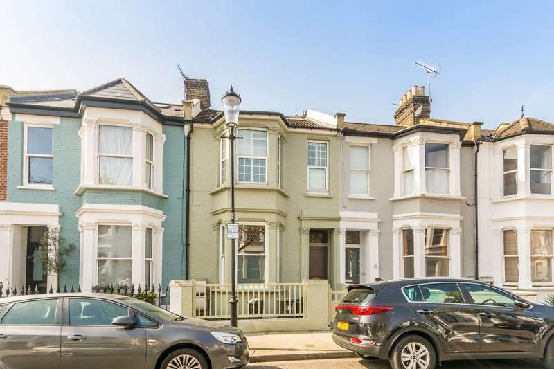 3 Bedrooms Maisonette Flat for sale in Bracewell Road, North Kensington, W10