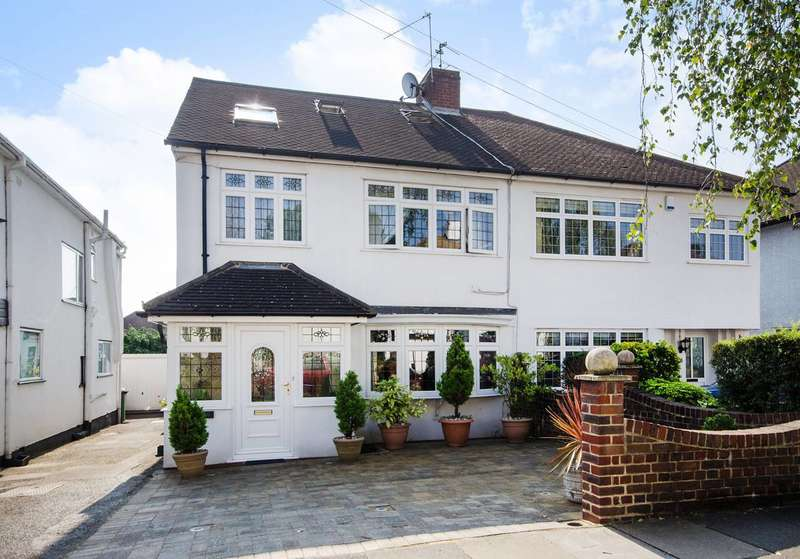 4 Bedrooms Semi Detached House for sale in Whitegate Gardens, Harrow Weald, HA3