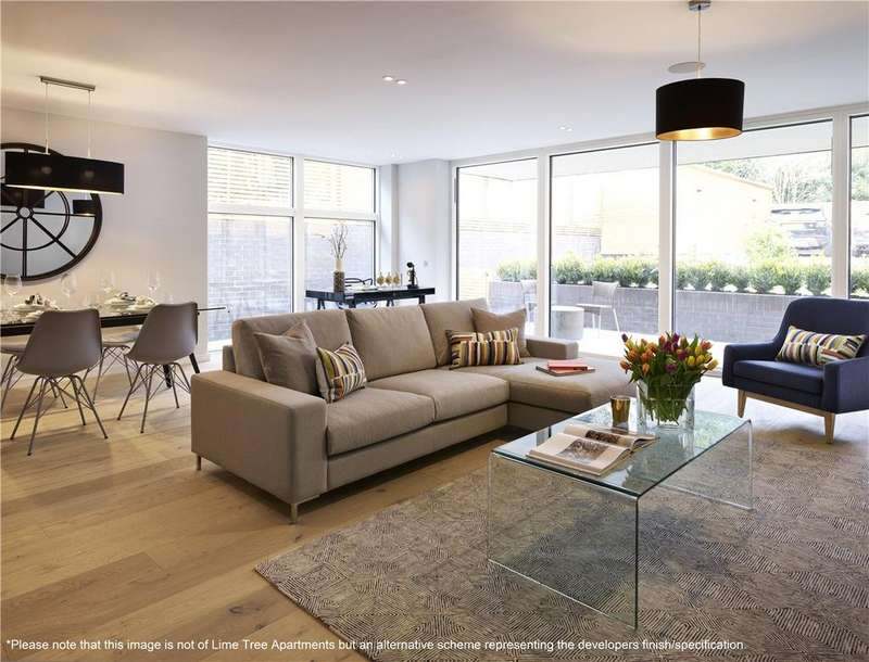 2 Bedrooms Flat for sale in Apt 5 Lime Tree Apartments, Willesden Lane, Brondesbury, NW6