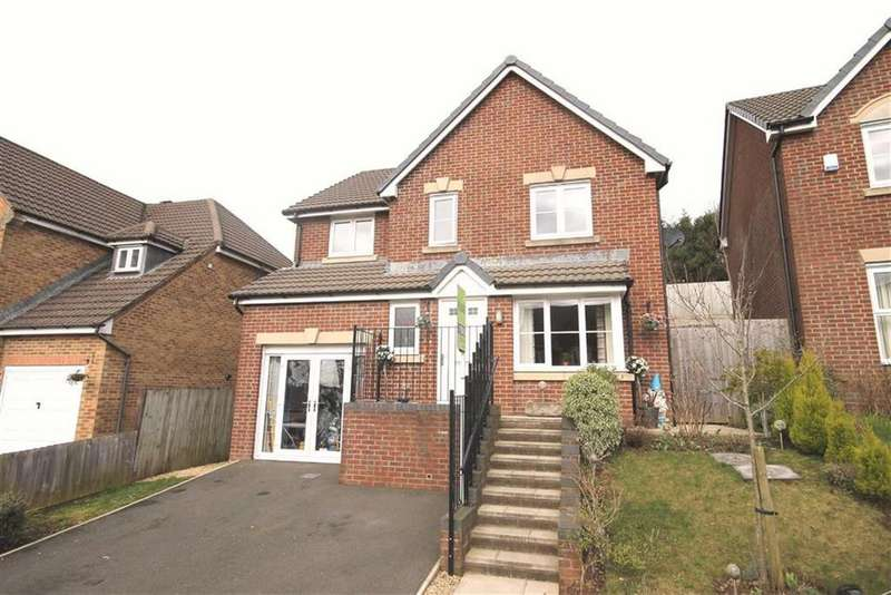 4 Bedrooms Detached House for sale in Heol Cwarrel Clark, Caerphilly, CF83