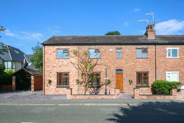 4 Bedrooms Semi Detached House for sale in Oak Cottage, Chapel Lane, Hale Barns
