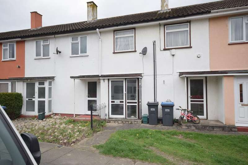2 Bedrooms Terraced House for sale in Canons Gate, Harlow, Essex, CM20 1QE
