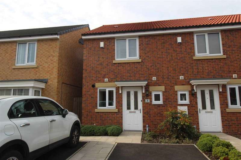 2 Bedrooms Terraced House for sale in Corinto Close, Collingwood Grange, Cramlington
