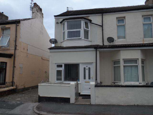 3 Bedrooms End Of Terrace House for sale in Haig Road, BLACKPOOL, FY1 6BZ