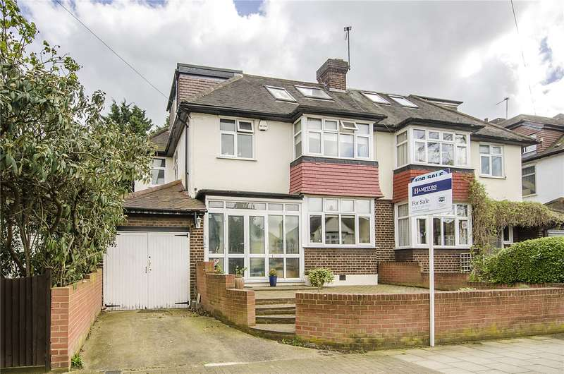 4 Bedrooms Semi Detached House for sale in Brantwood Road, London, SE24