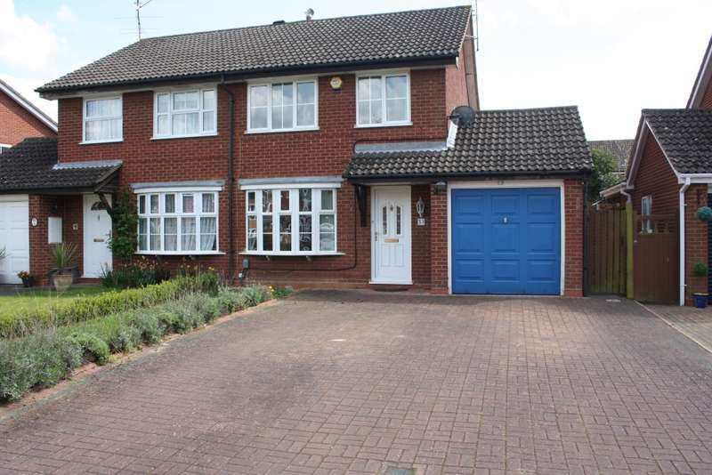 3 Bedrooms Semi Detached House for sale in Hawker Way, Woodley, Reading, RG5