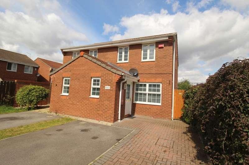 3 Bedrooms Semi Detached House for sale in Geneva Lane, Darlington, DL1