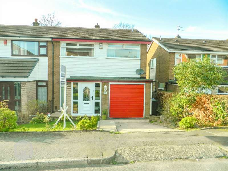 3 Bedrooms Semi Detached House for sale in Bleakledge Grove, Hindley, Wigan, Lancashire
