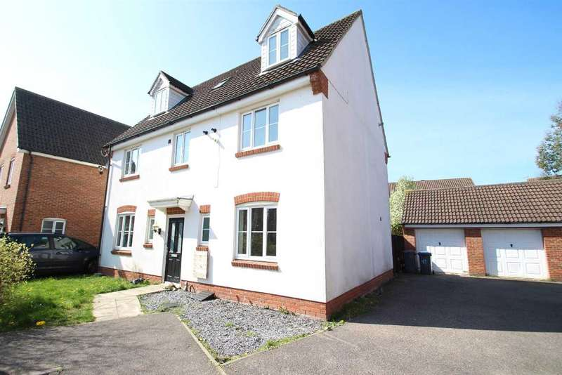 6 Bedrooms Detached House for sale in Walker Chase, Grange Farm, Kesgrave, Ipswich