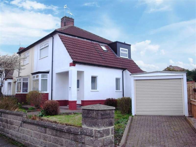2 Bedrooms Semi Detached House for sale in Brian Road, Darlington