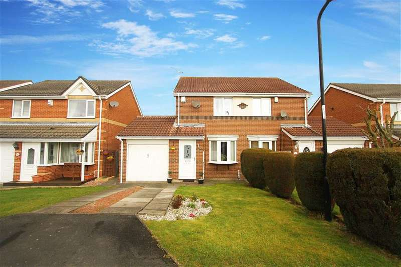 2 Bedrooms Property for sale in Primrose Close, Annitsford