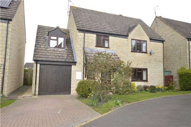 4 Bedrooms Detached House for sale in East Gable, Woodmancote, Cheltenham, Glos, GL52 9UB