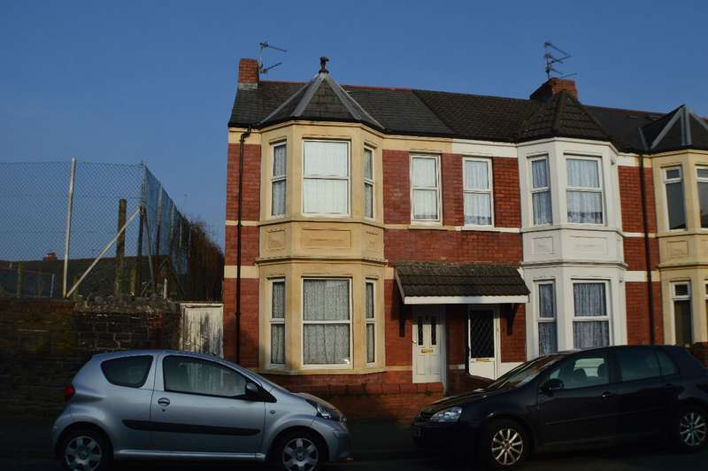 3 Bedrooms End Of Terrace House for sale in Belle Vue Crescent, Llandaff North