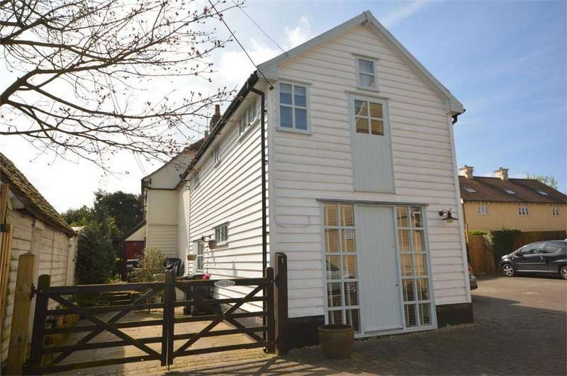 2 Bedrooms End Of Terrace House for sale in Harmans Yard, DUNMOW