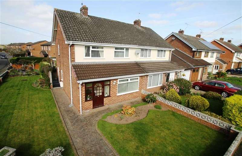 3 Bedrooms Semi Detached House for sale in Barkhill Road, Vicars Cross