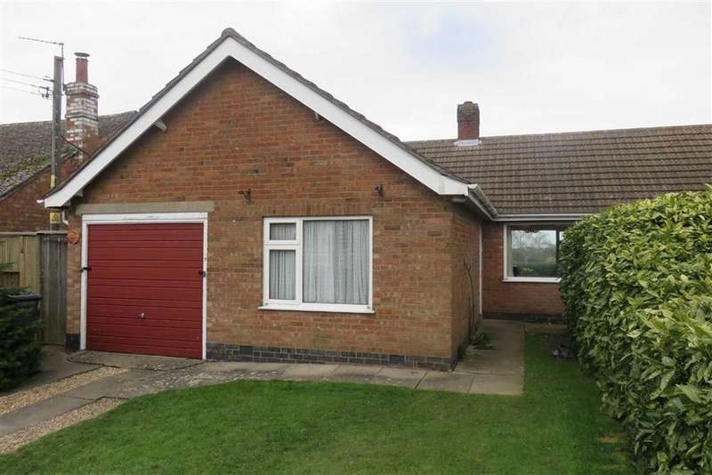 2 Bedrooms Semi Detached Bungalow for sale in Ingarsby Close, Houghton-on-the-Hill