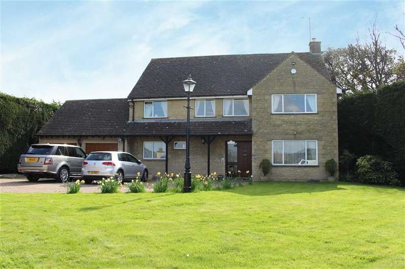 4 Bedrooms Detached House for sale in Stroud Road, Brookthorpe, Gloucestershire