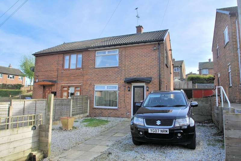 2 Bedrooms Semi Detached House for sale in Vicarage Walk, Penistone, Sheffield