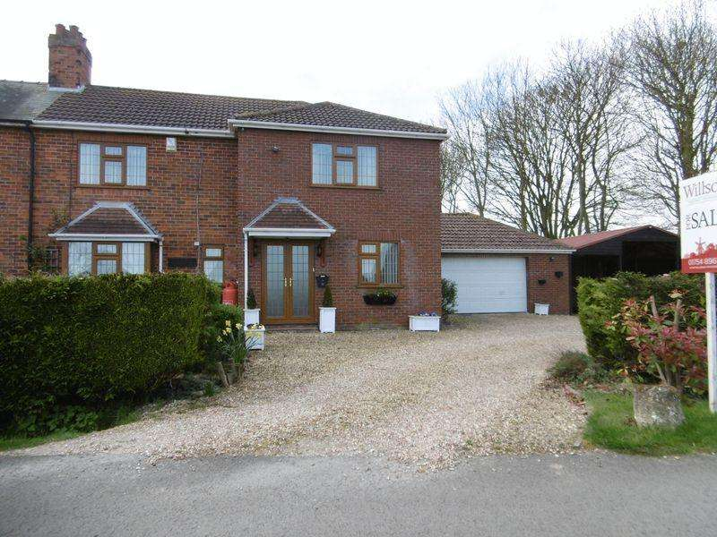 4 Bedrooms Semi Detached House for sale in Church End, Winthorpe