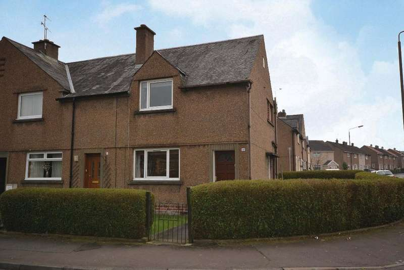 2 Bedrooms End Of Terrace House for sale in Fairyburn Road , Alloa, Stirling, FK10 2JY