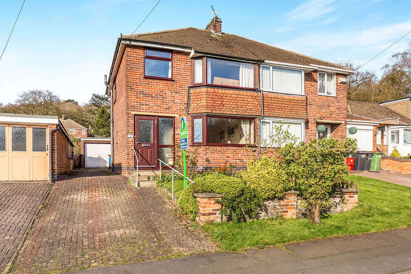 3 Bedrooms Semi Detached House for sale in St. Bernards Road, Whitwick, Coalville, LE67