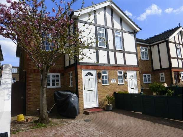 3 Bedrooms End Of Terrace House for sale in Shirley Gardens, Hanwell, Hanwell, Hanwell