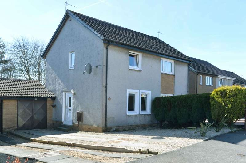2 Bedrooms Semi Detached House for sale in Westwood Park, Deans, Livingston, EH54 8QW