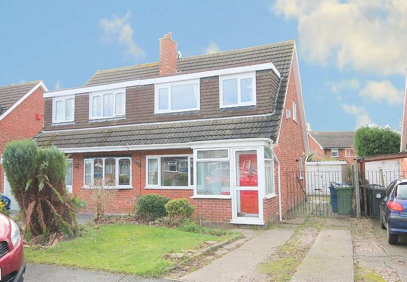 3 Bedrooms Semi Detached House for sale in Deltic, Tamworth, B77 2DU