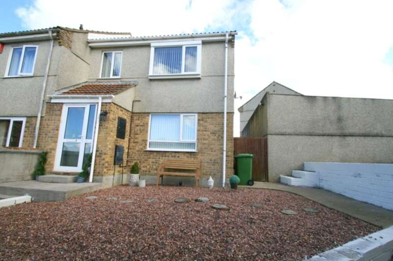 3 Bedrooms End Of Terrace House for sale in Hedingham Close, Plympton