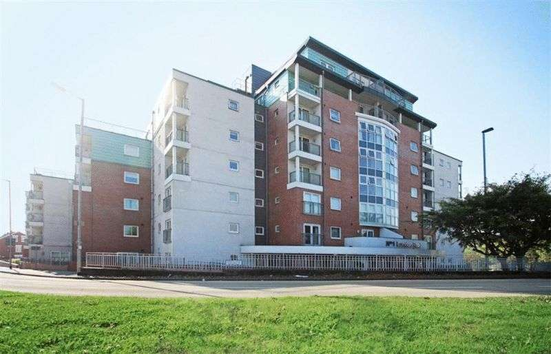 3 Bedrooms Flat for sale in Tower Court, No. 1 London Road, Newcastle