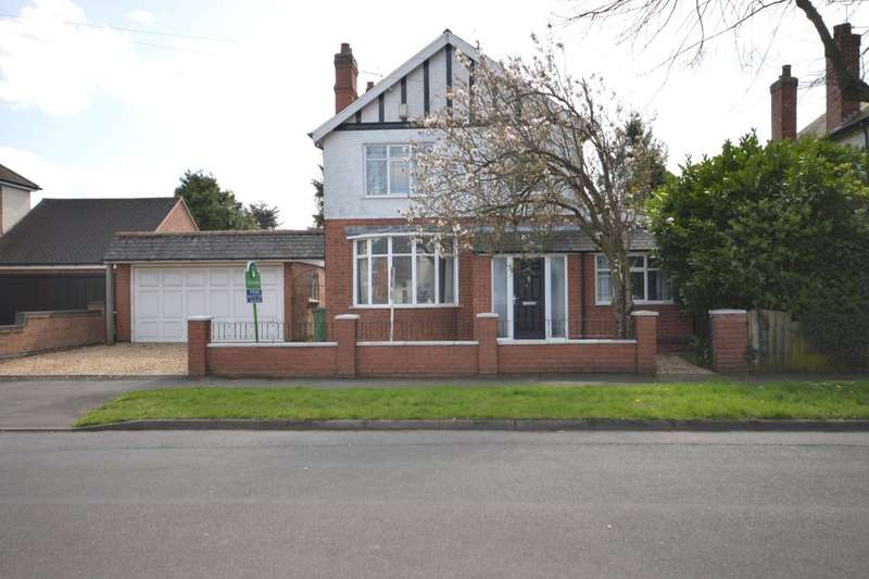 4 Bedrooms Detached House for sale in Glenville Avenue, Glen Parva, Leicester, LE2