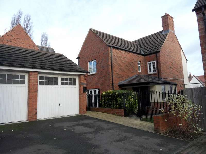 4 Bedrooms Detached House for sale in Bradgate Gardens, Hinckley