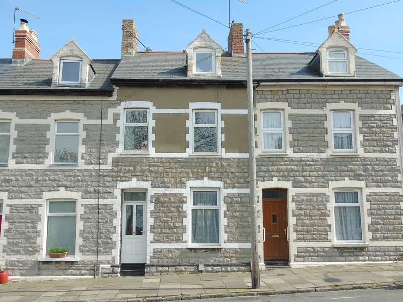 3 Bedrooms Terraced House for sale in Arcot Street, Penarth