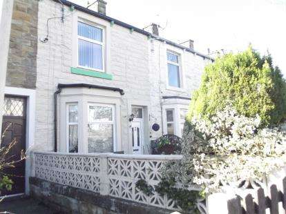 2 Bedrooms Terraced House for sale in Russell Terrace, Padiham, Burnley, Lancashire, BB12