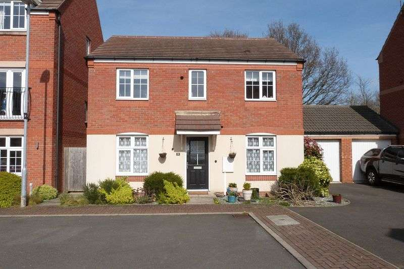 4 Bedrooms Detached House for sale in Barr Road, Syston