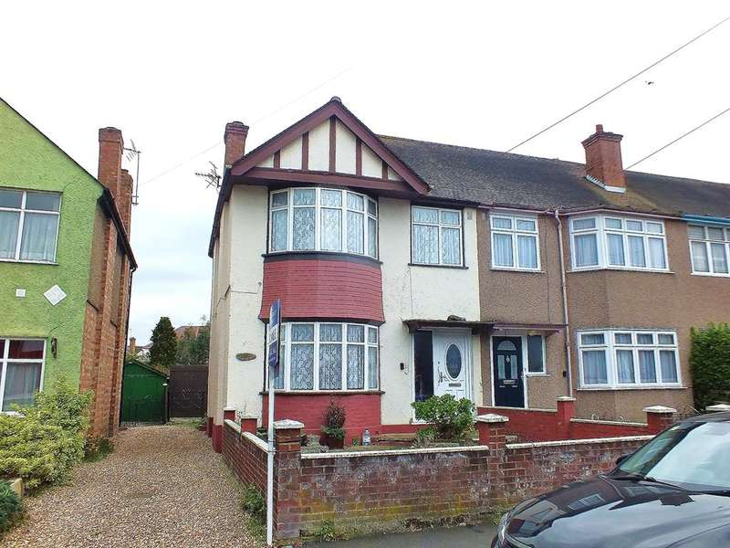 3 Bedrooms End Of Terrace House for sale in Granville Road, Hillingdon, Middlesex, UB10 9AG