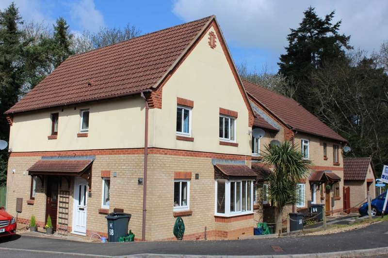 2 Bedrooms End Of Terrace House for sale in Wordsworth Close, Exmouth