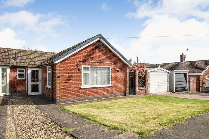 2 Bedrooms Semi Detached Bungalow for sale in St. Andrews Drive, Alfreton