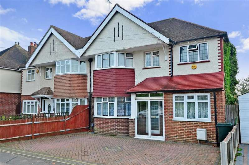 5 Bedrooms Semi Detached House for sale in Jemmett Road, Ashford, Kent