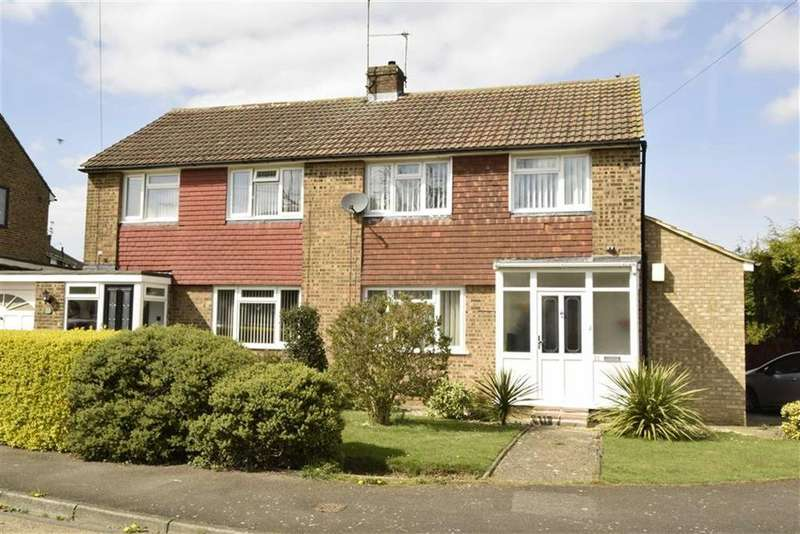 3 Bedrooms Semi Detached House for sale in Windermere Drive, Rainham, Kent, ME8