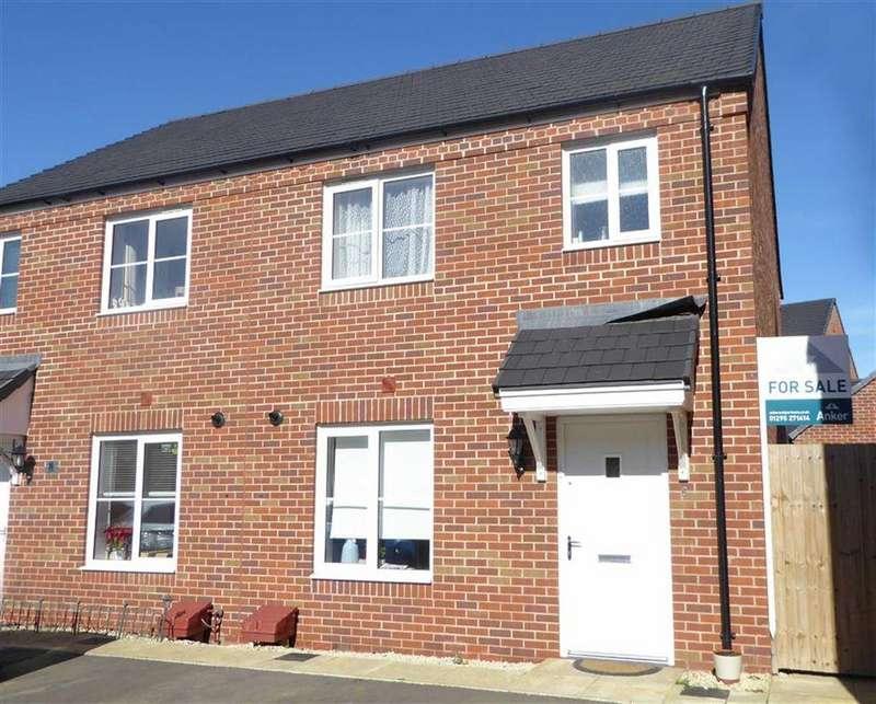 3 Bedrooms Semi Detached House for sale in Skylark Road, Bodicote