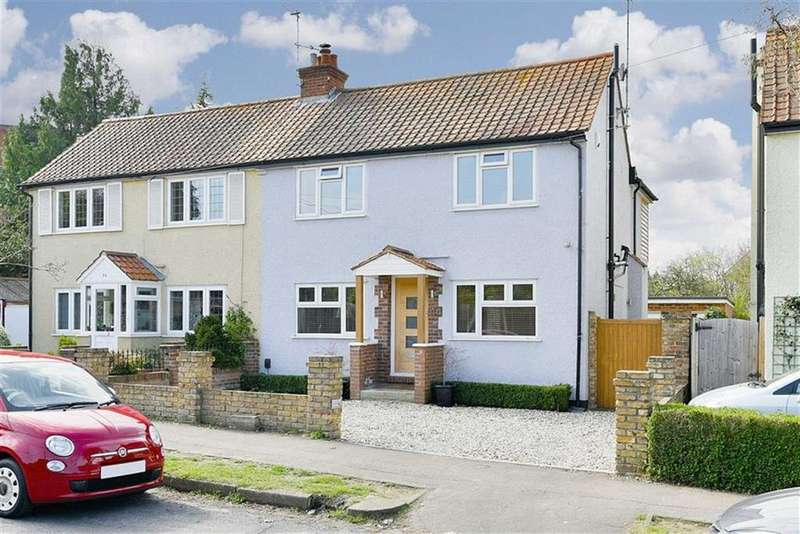 3 Bedrooms Semi Detached House for sale in West Gardens, Ewell Village, Surrey