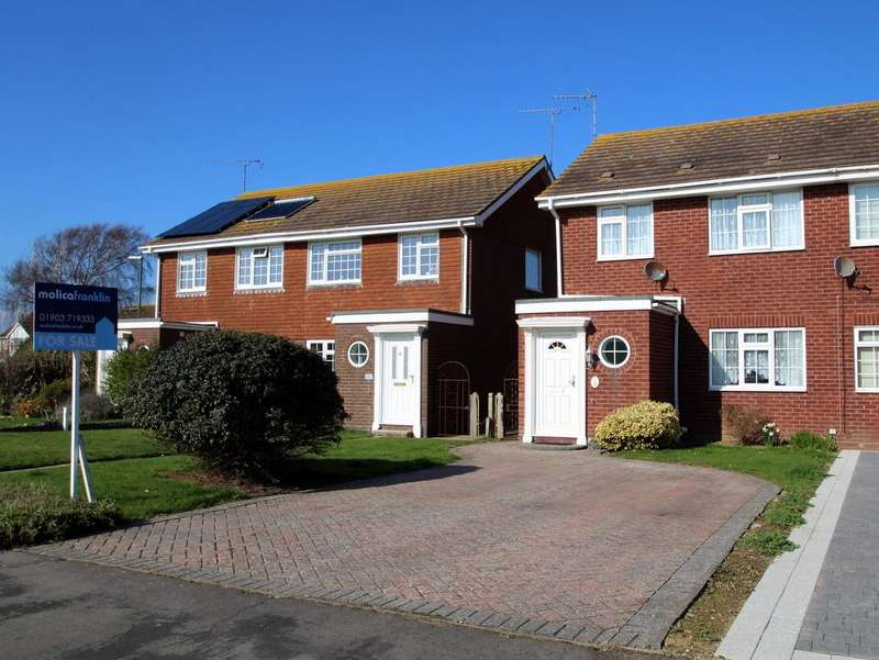 3 Bedrooms Semi Detached House for sale in Leeward Road, Littlehampton
