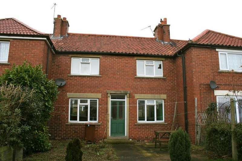3 Bedrooms Terraced House for sale in 2 East Terrace, Wombleton YO62 7RT