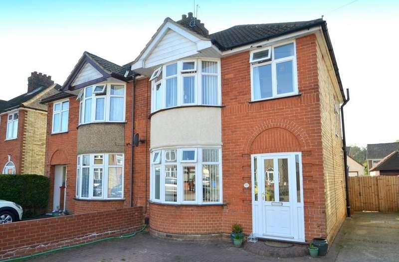 3 Bedrooms Semi Detached House for sale in Brunswick Road, Ipswich, Suffolk