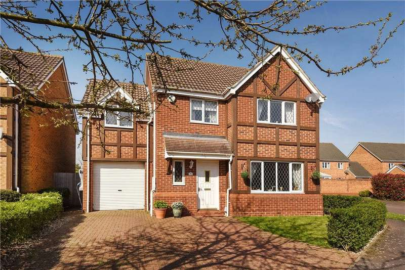 4 Bedrooms Detached House for sale in Cartmel Priory, Bedford, Bedfordshire